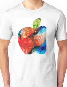 An Apple A Day - Colorful Fruit Art By Sharon Cummings  Unisex T-Shirt