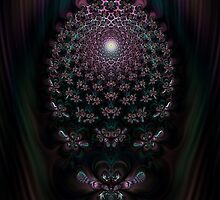 Fireflies New Awakening Fractal by Rose Santuci-Sofranko
