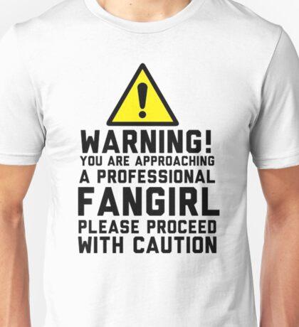 Fangirl Warning Unisex T-Shirt