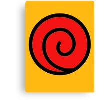 Uzumaki Symbol Canvas Print