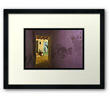 Colors of night Framed Print