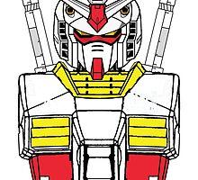 Gundam RX-78 T shirt by Ennder