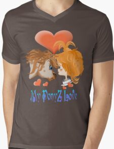 My PonyZ Love Lettered  Mens V-Neck T-Shirt