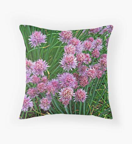 Sprinkling of Spring Pink Throw Pillow