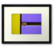 Miles Plumber Framed Print
