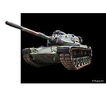 M48A2 Tank - Military Track Vehicle Photographic Print