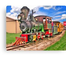 Narrow Gauge Train-HDR Canvas Print