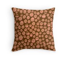 Germs and Bandits Reverse Throw Pillow