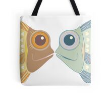 Fish Greetings Tote Bag