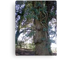 Tree in Upton Park, Easter Canvas Print
