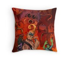 Bug & Stump Decay Cover Throw Pillow