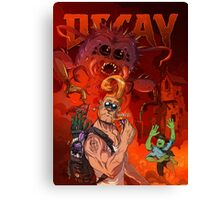 Bug & Stump Decay Cover Canvas Print