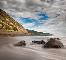 Running tide by Aaron Radford