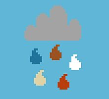 Clouds - pixel art by galegshop