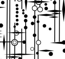 Kree City Blueprints (Black) Sticker