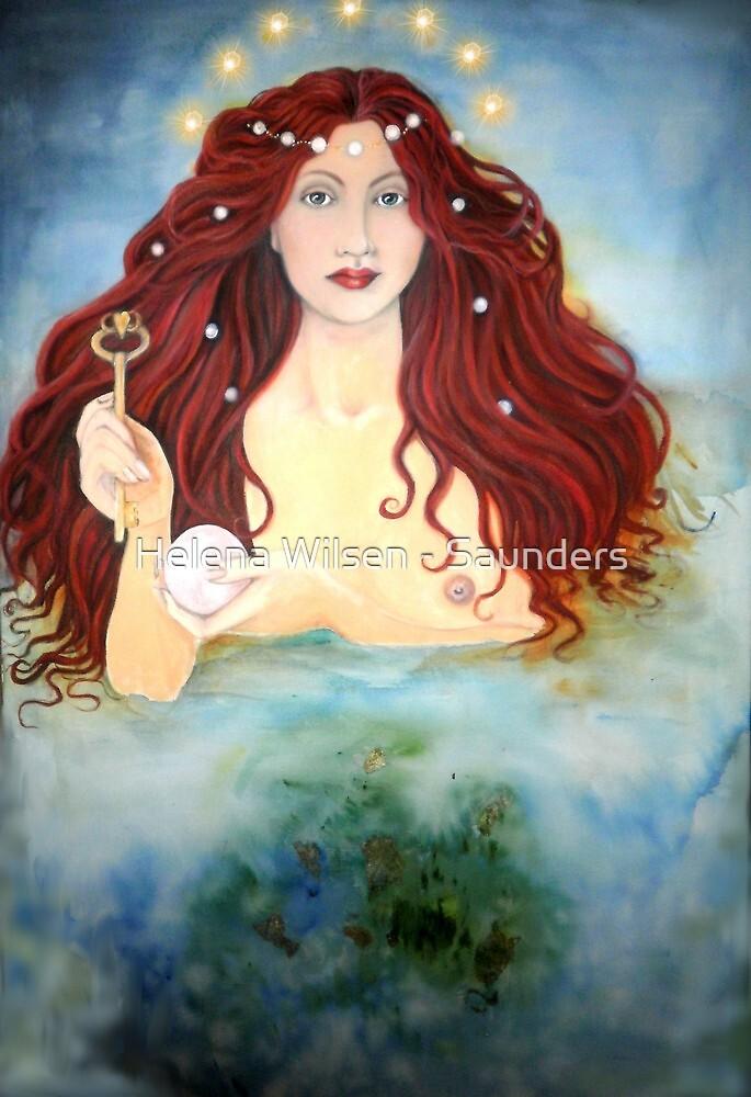 The Mermaid by Helena Wilsen - Saunders
