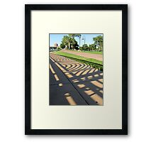 St Paul Shadows Framed Print