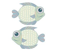 Two Cool Fish by Jean Gregory  Evans