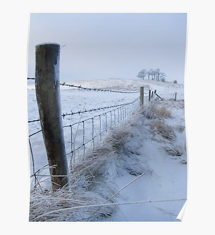 Cherhill In the Snow Poster