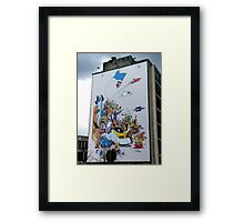 Comics Framed Print