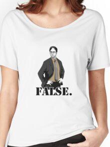 FALSE. Women's Relaxed Fit T-Shirt