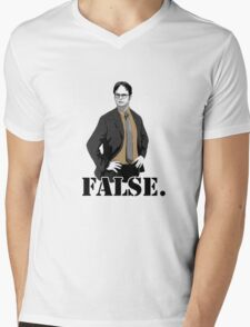 FALSE. Mens V-Neck T-Shirt