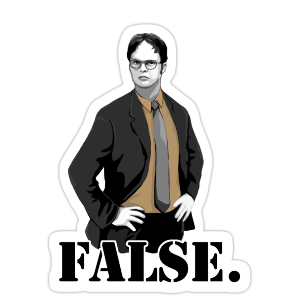 FALSE. by Selador