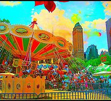 Central Park Amusement Park by ShellyKay