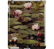 The lily pond. iPad Case/Skin