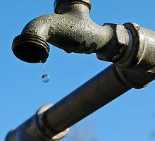Dripping faucet by faithbishop