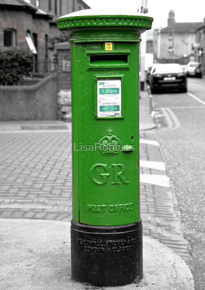 Postbox, Dublin by LisaRoberts