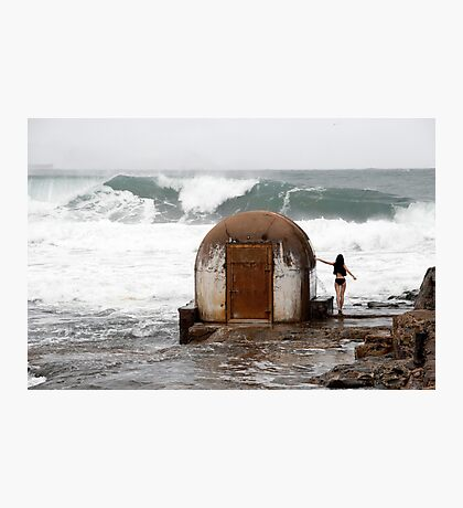 Pump Station at Newcastle Baths Photographic Print