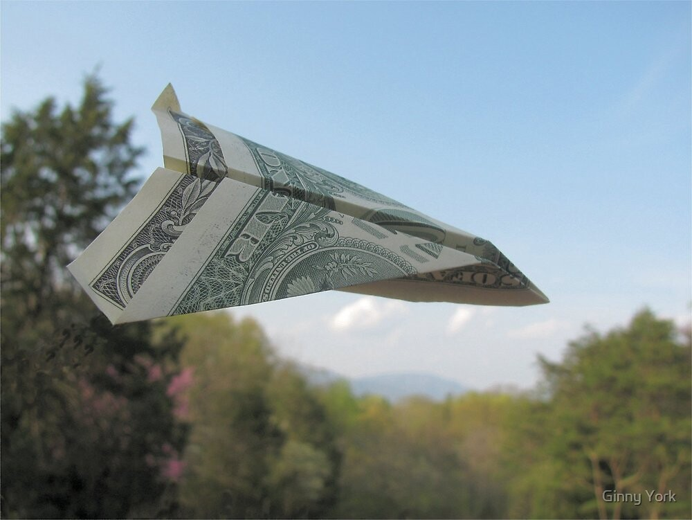 The Money Plane by Ginny York