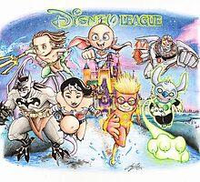 The Disney League by RevxArt