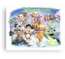 The Disney League Canvas Print