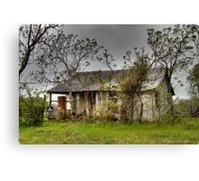 Deserted Farmhouse Canvas Print