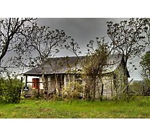 Deserted Farmhouse Photographic Print