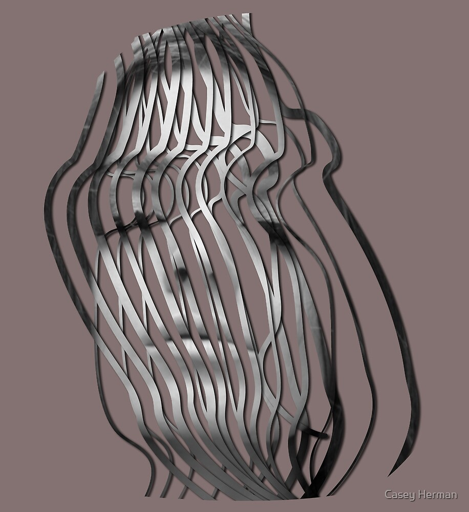 Face In A Cage by Casey Herman