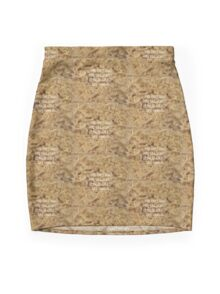 Men Who'll Always Be There for You: Ramen Mini Skirt