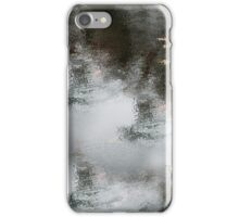 White Dingy Grey Water Fall iPhone Case/Skin