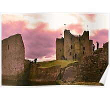 Anglo-Norman castle  Poster