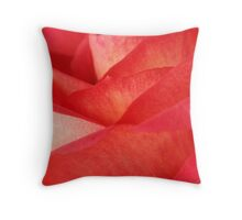 Rose Pedals Throw Pillow