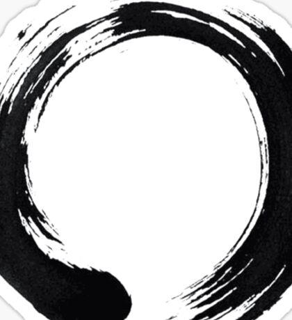 Zen Enso Circle Sticker