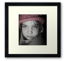 Those Eyes - Windows to the Soul Framed Print