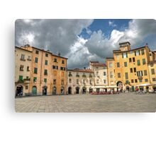 Piazza dell'anfiteatro Canvas Print