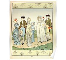 The Glad Year Round for Boys and Girls by Almira George Plympton and Kate Greenaway 1882 0049 A Walking Poster