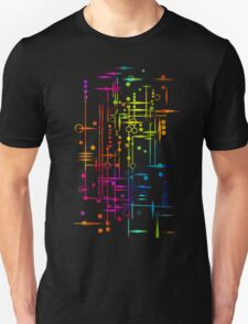 Kree City Blueprints (Watercolour Splatter) Unisex T-Shirt