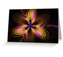 Etheral Flower Power Greeting Card
