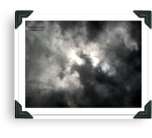 Fire sword Canvas Print