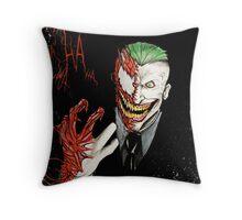 Joker - Carnage Throw Pillow